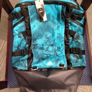 Adidas by KOLOR Large Turquoise OPS Backpack